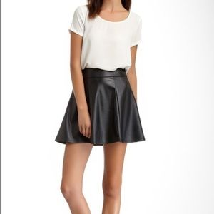 Dresses & Skirts - Socialite Faux Leather Skirt